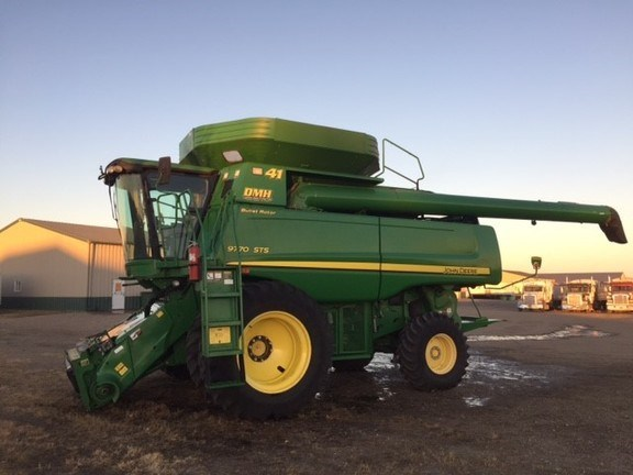 2009 John Deere 9770 STS Combine For Sale
