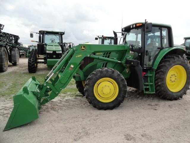 2015 John Deere 6140M Tractor For Sale