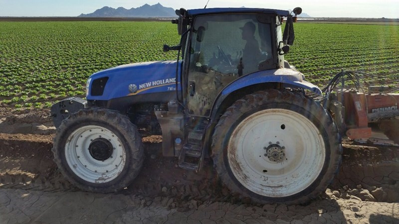 2013 New Holland T6.155 4WD Tractor For Sale