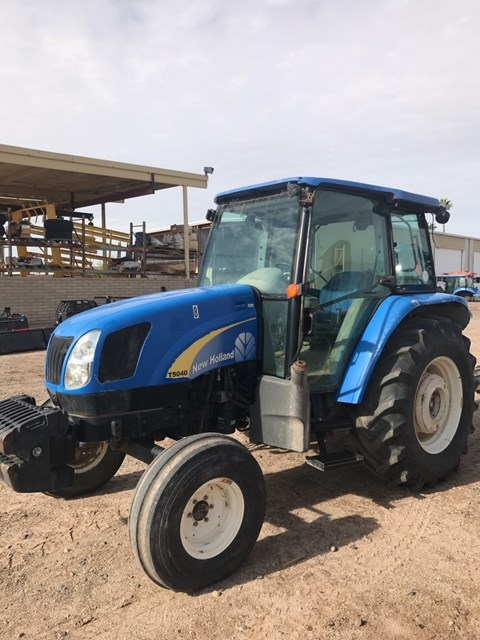 2010 New Holland T5040 2WD Tractor For Sale