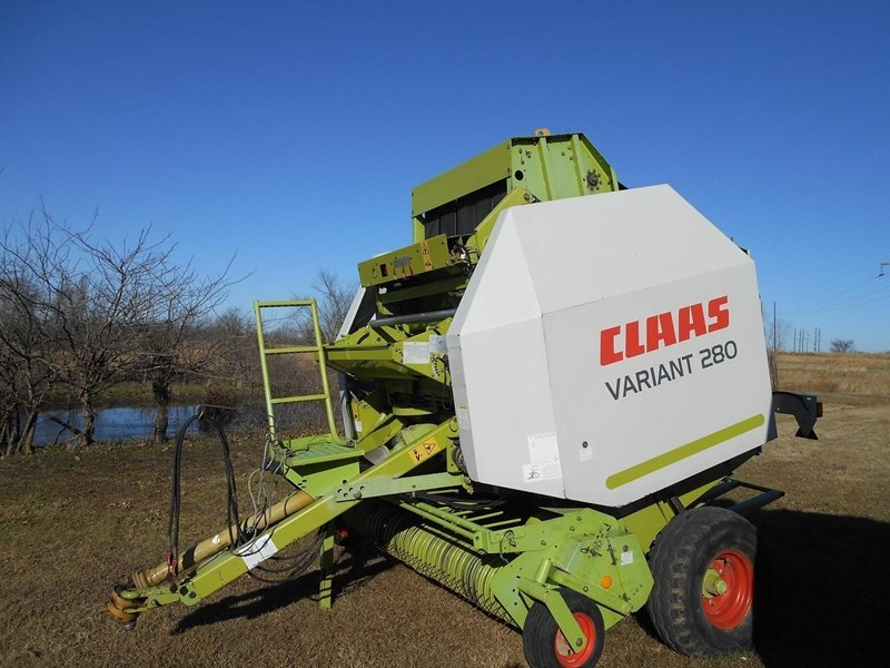 2004 Claas VARIANT 280 Baler-Round For Sale