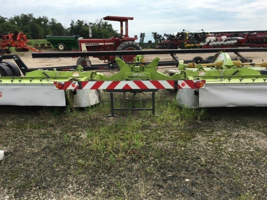 2012 Claas 9100C Mower Conditioner For Sale