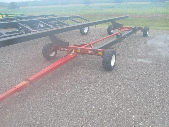 2005 Unverferth 31 Header Trailer For Sale