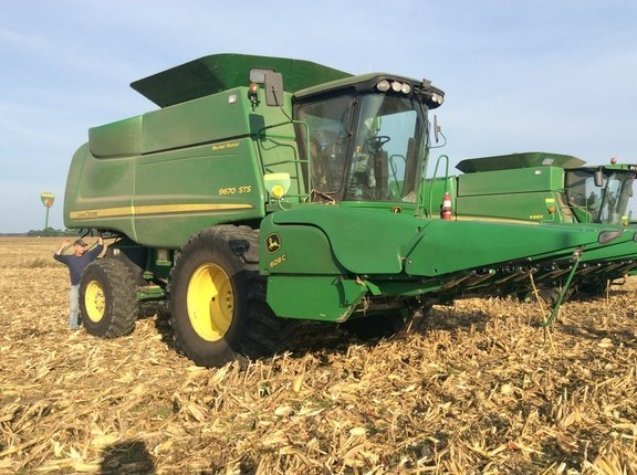 2011 John Deere 9670 STS Combine For Sale