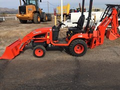 Loader Backhoe :  Kubota BX25D