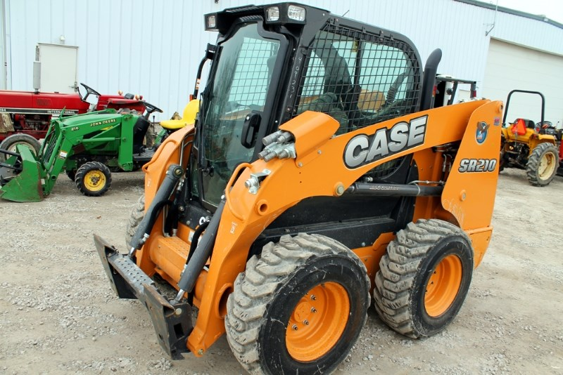 2015 Case SR210 Skid Steer For Sale