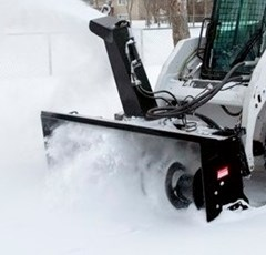 """Skid Steer Attachment For Sale 2016 Allied 72"""" SNOW BLOWER"""