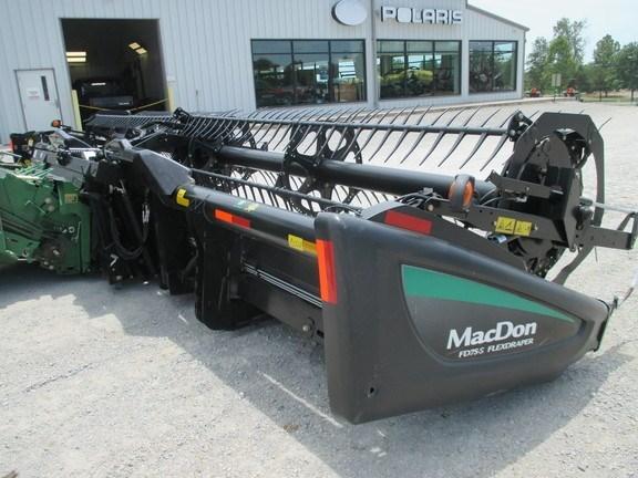 2014 Mac Don FD75-30 Header-Draper/Flex For Sale