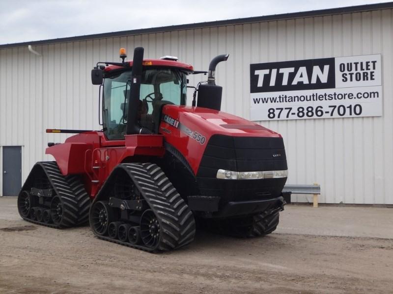 2014 Case IH 550Q, 1062 Hr, 1000 PTO , $28098 Annual Lease Pymt Tractores a la venta