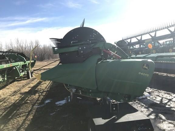 2016 John Deere 640FD Header-Flex/Draper For Sale