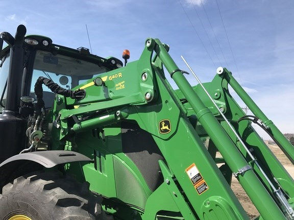 2016 John Deere 640R Front End Loader Attachment For Sale