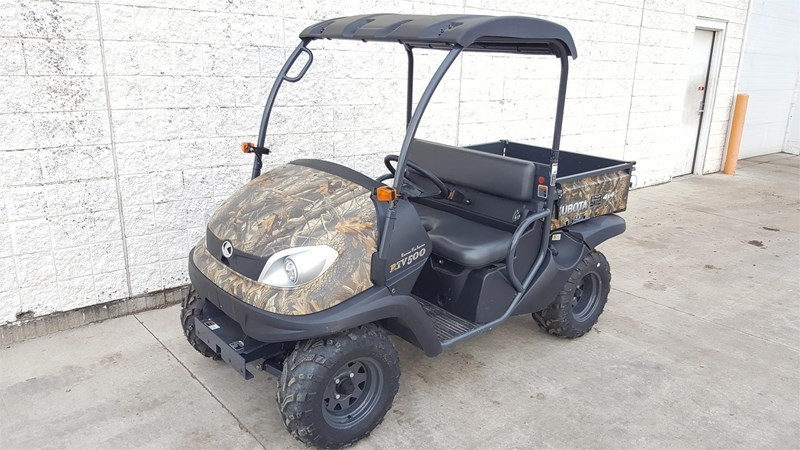 2017 Kubota RTV500R-H Utility Vehicle For Sale