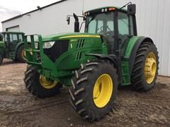 Tractor For Sale 2015 John Deere 6140M , 140 HP