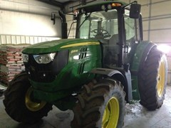 Tractor For Sale 2015 John Deere 6125M Cab , 125 HP