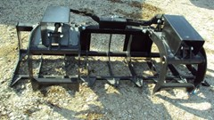 Grapple For Sale:  Lucas 7' twin cyl. Grapple with skid steer quick connect