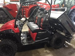 Utility Vehicle For Sale 2017 Mahindra 750S Red 3 Pass Flexhauler
