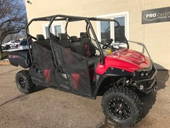 Utility Vehicle For Sale 2017 Mahindra 750C 6 Pass Red Crew