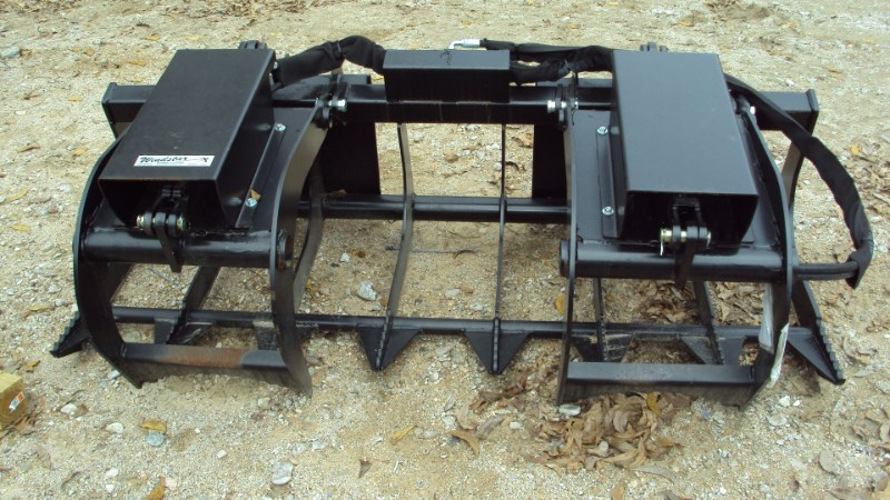 Lucas 6' twin cyl. Grapple with skid steer quick connect Grapple For Sale