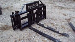 Pallet Fork For Sale:  Lucas Universal Pin-on pallet forks