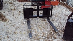 Pallet Fork For Sale:  Lucas Skid steer quick connect pallet forks