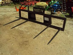 Misc. Ag For Sale:  Lucas Quad spear for skid steer quick connect