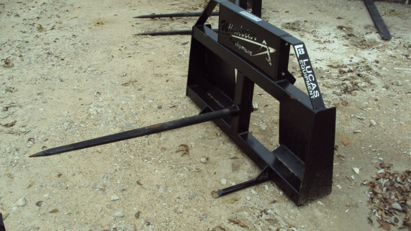 Lucas Skid Steer quick connect single hay spear Misc. Ag For Sale