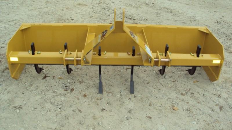 Dirt Dog 3pt 7' Super Duty box blade w/ rear gate MBX84 Box Blade Scraper For Sale