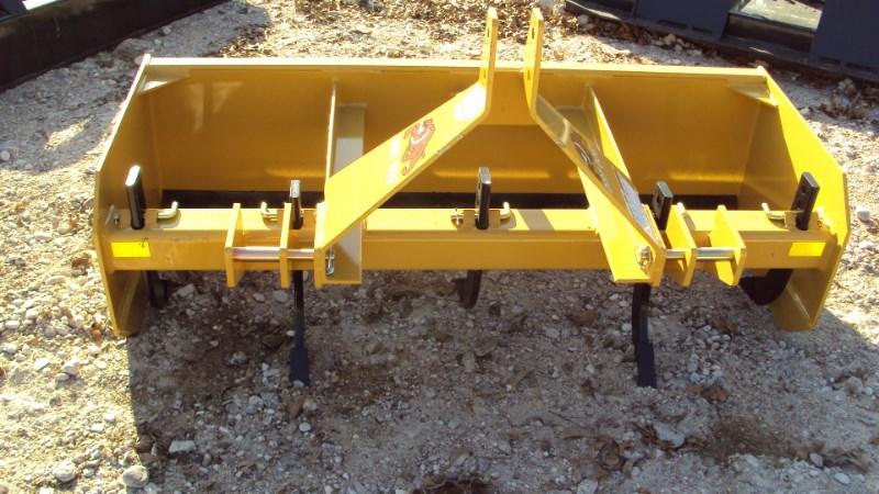 Dirt Dog 3pt 5' Super Duty box blade w/ rear gate MBX60 Box Blade Scraper For Sale