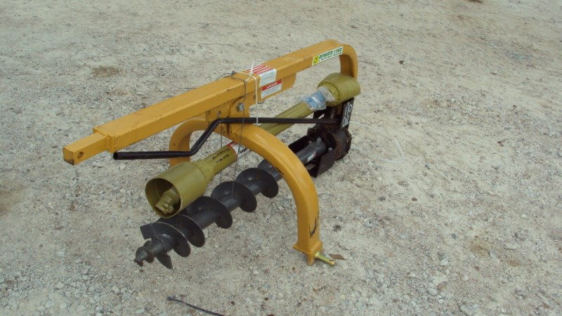 "Other 3pt HD post hole digger w/ 6"" auger PL6 Post Hole Digger For Sale"