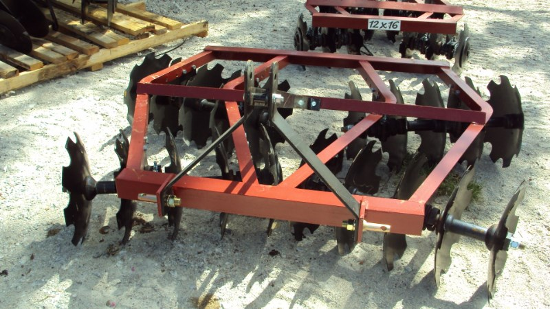 Atlas  3pt 6.5' tandem disc harrow WF2018 Disk Harrow For Sale