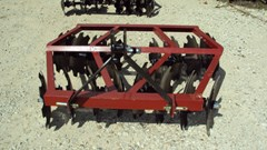 Disk Harrow For Sale:  Atlas 3pt 5.5' tandem disc harrow WF1618
