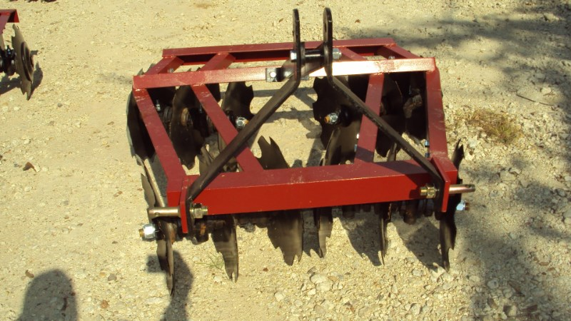 Atlas  3pt 4.5' tandem disc harrow WF1216 Disk Harrow For Sale