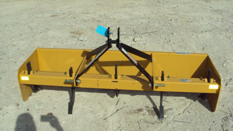 Dirt Dog 3pt 6' box blade with rippers BBX72 NEW Box Blade Scraper For Sale