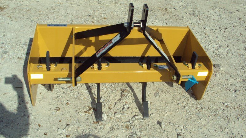 Dirt Dog 3pt 4' box blade with rippers BBX48 NEW Box Blade Scraper For Sale