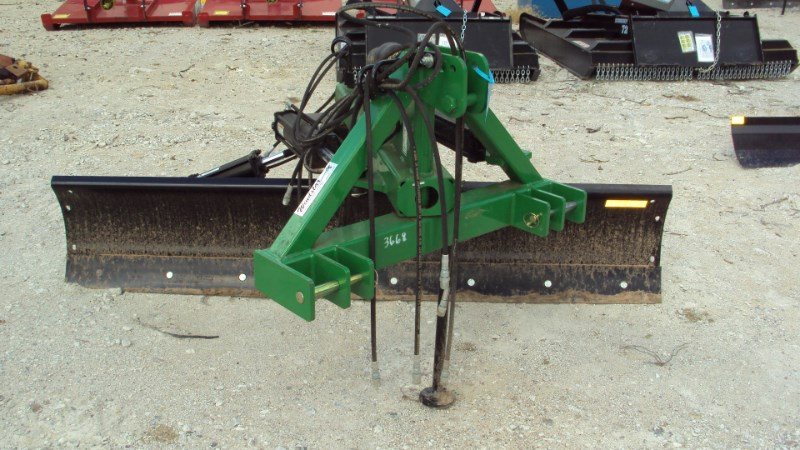 Dirt Dog 3pt 8' Extreme Duty Hyd. angle grader blade 9108 Blade Rear-3 Point Hitch For Sale