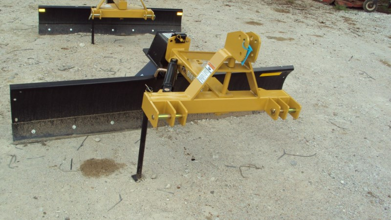 Dirt Dog 3pt 8' Super Duty angle grader blade 7008 Blade Rear-3 Point Hitch For Sale