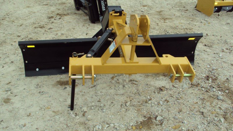 Dirt Dog 3pt 7' Super Duty angle grader blade 7007 Blade Rear-3 Point Hitch For Sale
