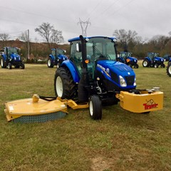Tractor For Sale:  2016 New Holland T4.90 , 90 HP