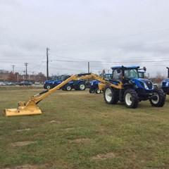 Tractor For Sale:  2016 New Holland TS6.155 , 155 HP