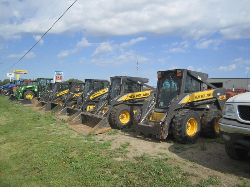 2007 New Holland L190 Skid Steer For Sale