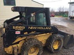 Skid Steer For Sale:  1997 New Holland LX665