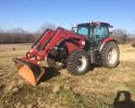 Tractor For Sale: 2008 Case IH 115 MAXXUM, 115 HP