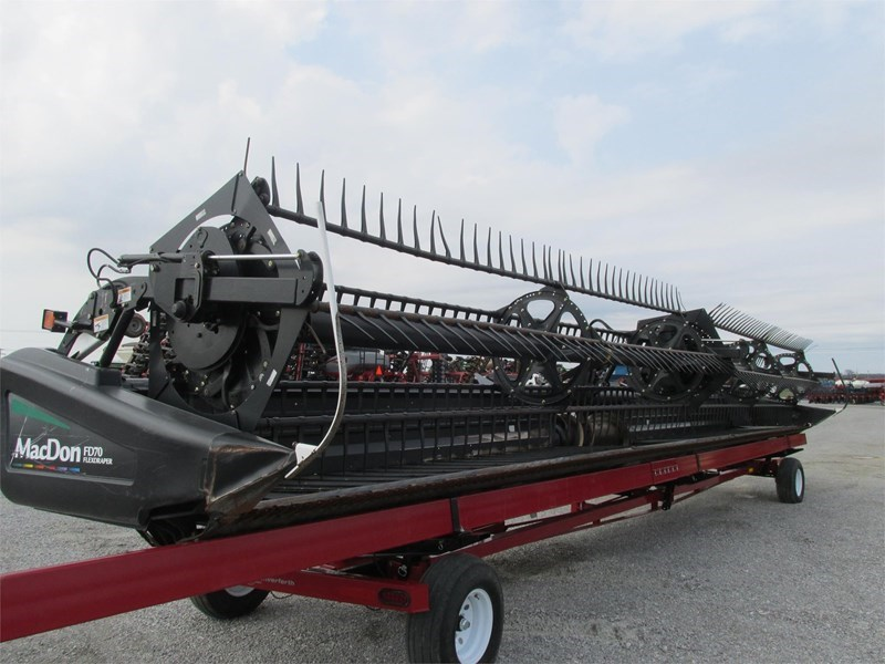 2011 MacDon FD70 Header/Platform For Sale