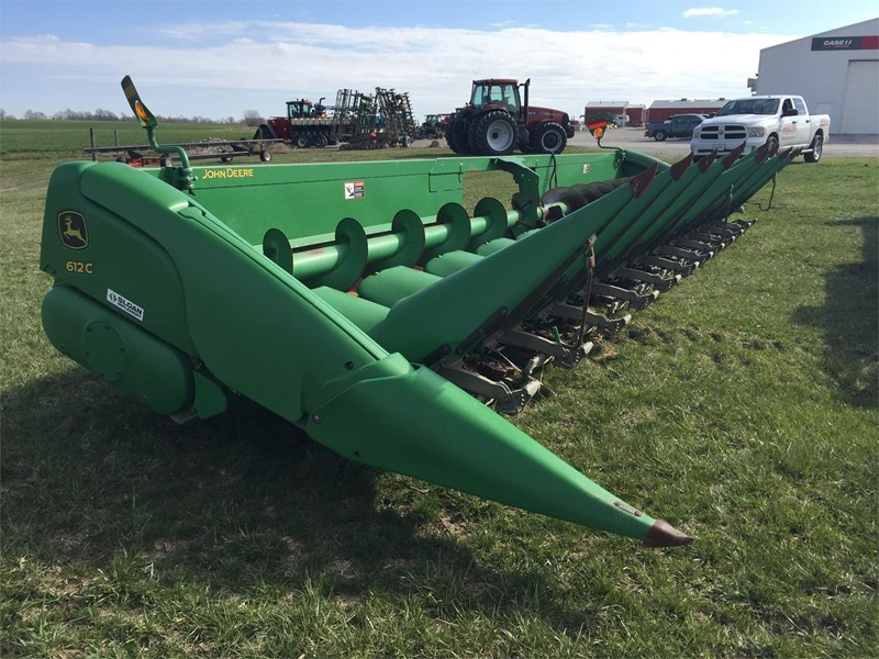 2009 John Deere 612C Header-Row Crop For Sale