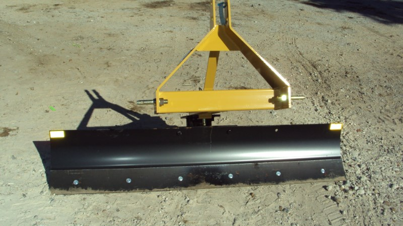 Dirt Dog New 3pt 6' foot angle grader blade 3506 Blade Rear-3 Point Hitch For Sale