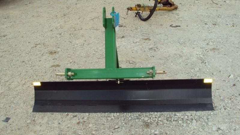 Dirt Dog 3pt 6' foot grader blade 2006 Blade Rear-3 Point Hitch For Sale