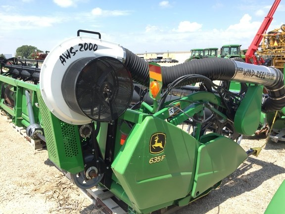 2009 John Deere 635F Header-Auger/Flex For Sale