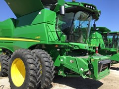 Combine For Sale:  2016 John Deere S670