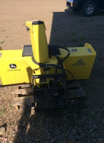 2015 John Deere 54in snow blower Attachment For Sale