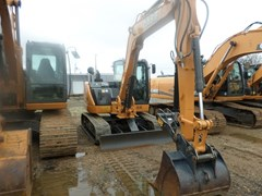Excavator-Track For Sale 2016 Case CX80C , 55 HP